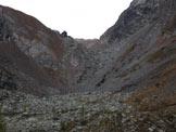 Via Normale Monte Cabianca - Il vallone che porta al passo