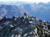 Via Normale Monte Cabianca - Tratto di cresta che scende al rifugio