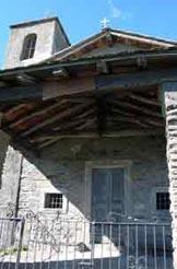 Via Normale Sasso di Musso - La facciata della Chiesa