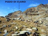 Via Normale Pizzo di Claro - In salita, a pochi metri dalla sella (q. 2270 m)