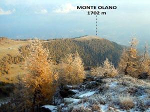 Via Normale Monte Olano
