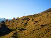 Via Normale Monte Olano - La croce del Monte Olano