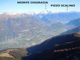 Via Normale Pizzo dei Galli - versante E - La Valtellina dal Pizzo dei Galli
