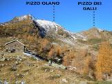 Via Normale Pizzo dei Galli - L'ultima baita che si incontra