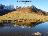 Via Normale Pizzo Olano - Immagine ripresa dalla piana del Monte Olano