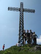 Via Normale Pizzo Formico - La croce del Pizzo Formico