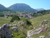 Via Normale Punta  Macerola - Il paese di Rovere, base di partenza dell'escursione