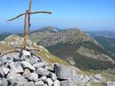 Via Normale Serra Dolcedorme - Dalla Serra Dolcedorme vista della Serra delle Ciavole e la Serra di Crispo