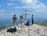 Via Normale Monte di Cambio (da N) - Trasmissioni radio dalla vetta