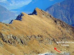 Via Normale Cima della Rosetta - versante SW