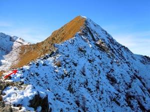 Via Normale Monte Combana - Cresta E