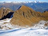 Via Normale Monte Rosetta - Il Monte Combana, dalla vetta del Monte Rosetta