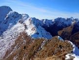 Via Normale Monte Combana - A sinistra il Monte Rosetta, dalla cresta SW del Combana
