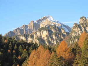 Via Normale Monte Pelf
