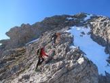 Via Normale Monte Pelf - Tratto di salita