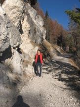 Via Normale Cianderou - Salendo