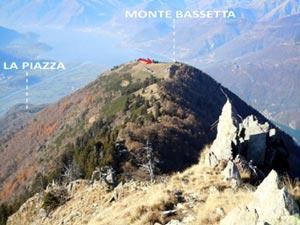 Via Normale Monte Bassetta - Cresta SW