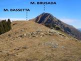 Via Normale Monte Bassetta - Cresta SW - A poche decine di metri dalla cima