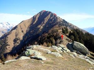 Via Normale Monte Brusada