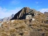 Via Normale Monte Brusada - La vetta
