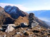 Via Normale Monte Brusada - Panorama verso E dalla vetta