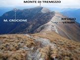 Via Normale Monte Calbiga - In discesa sulla cresta SE