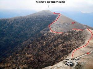 Via Normale Monte di Tremezzo