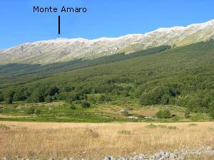 Via Normale Monte Amaro - via normale da Est