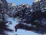 Via Normale Monte Zevola - Vajo dell´Acqua - La parte iniziale del vajo.