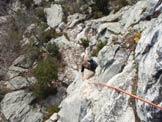Via Normale Rocca dell�Aia - Salendo