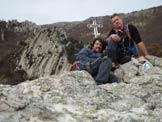 Via Normale Rocca dell´Aia - In cima