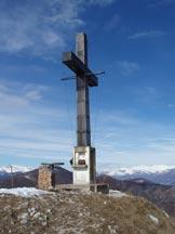 Via Normale Poncione di Ganna - Cresta NNW - La grande croce di vetta