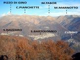 Via Normale Sassi della Porta - Panorama di vetta sulla Val Cavargna