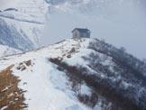 Via Normale Monte Sasna (invernale) - La Cappella al Passo Manina