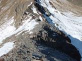 Via Normale Juferhorn - Traversata - La cresta finale