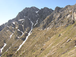 Via Normale Monte Alben da NE