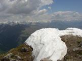 Via Normale Monte Alben da NE - Panorama dalla cima