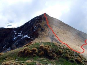 Via Normale Monte Croce di Muggio