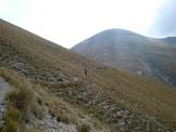 Via Normale Monte Argentella - Verso Forca Viola