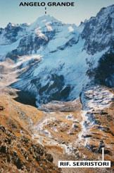 Via Normale Dossobello di Dentro - In discesa, verso il Rif. Serristori