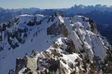 Via Normale Om Gran o Cima di Col Bel - Vista da P.ta Vallate