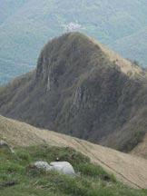 Via Normale Colmegnone-Poncione di Laglio - Punta La Forcoletta. In p. piano la cresta S del Colmegnone.