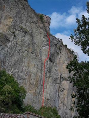 Via Normale Rocca San Leo - via Maestri-Alimonta