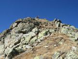 Via Normale Piz Griatschouls - cresta E - Sotto la vetta