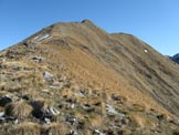 Via Normale Costone di Val Bona - Tratto di salita