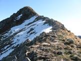 Via Normale Costone di Val Bona - Tratto in cresta