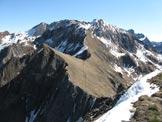 Via Normale Costone di Val Bona - Vista dalla cima verso il M. Frerone
