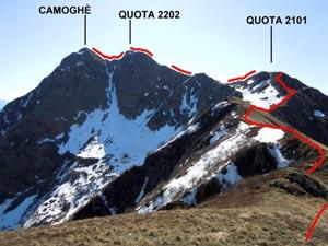 Via Normale Camoghè - Cresta W