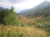 Via Normale Cuel di Lanis - Il pianoro prima della cima visto dall´alto