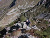 Via Normale Monte Azzarini (o Fioraro) - Il mio compagno in salita